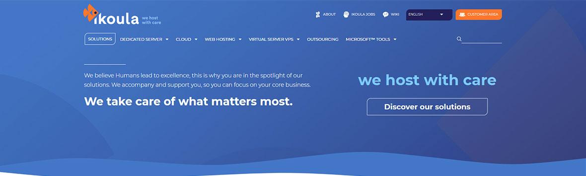 50% discount sur l'hébergement WordPress – Ikoula